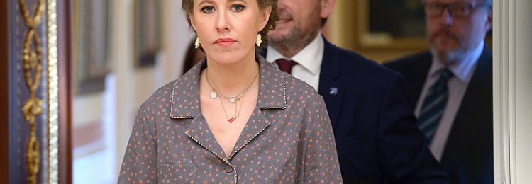 Собчак могут судить за предложение вернуть Крым Украине