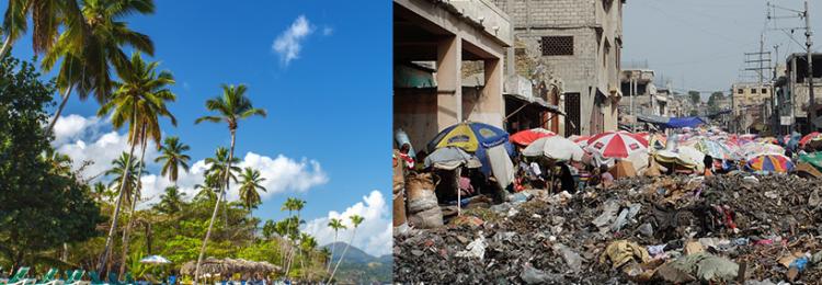 Рай и ад — две половины одного острова: Гаити и Доминикана