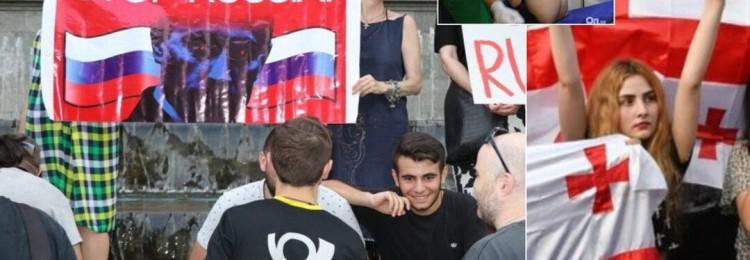 Саакашвили о грузинском Майдане: Русские совсем обнаглели!