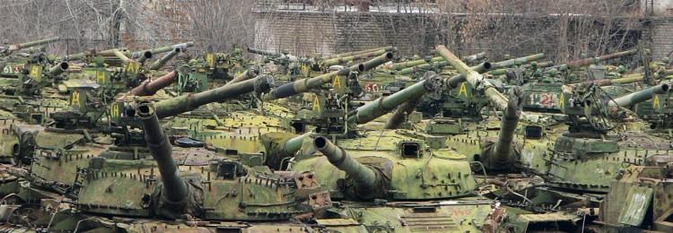 Танки на хранении: скрытые резервы российских танковых подразделений