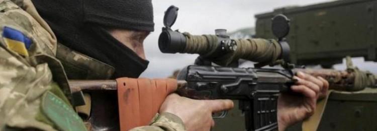 Украинский снайпер стрелял по российским журналистам в Донбассе