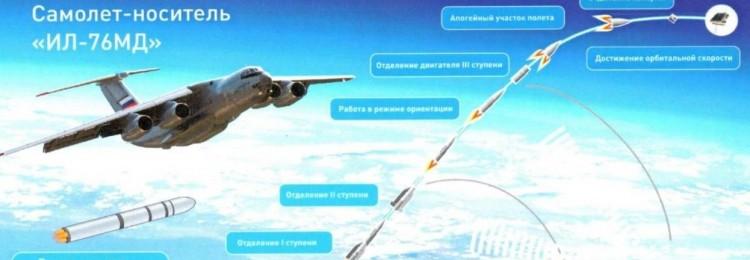 Китайские ракеты полетят в космос с российских Ил-76