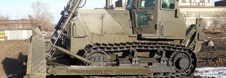 В Челябинске собирают первый боевой трактор