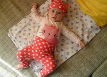 Поздравления с 1 месяцем девочке родителям картинки