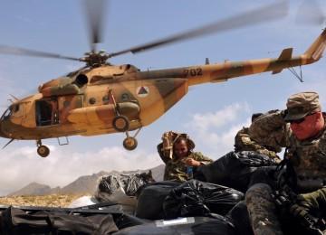 Россия не несет ответственности за Ми-17В-5 в Афганистане
