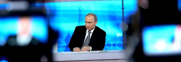 «Народная» любовь: отрицательный рейтинг прямого эфира с Путиным просто зашкаливал