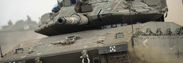О том, как российский и еврейский танки стволами мерялись