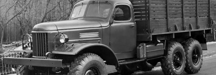 Самая известная машина времен СССР ЗИЛ-157