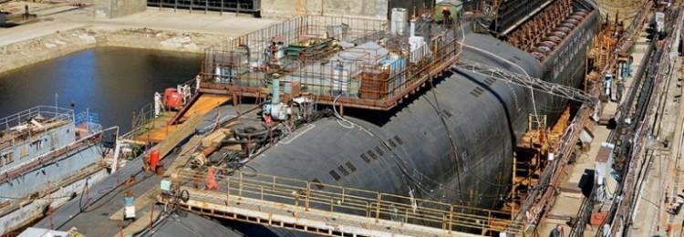 ВМФ России за год усилится пятью новыми атомными подлодками
