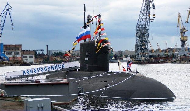 """Подводная лодка """"Новороссийск"""""""