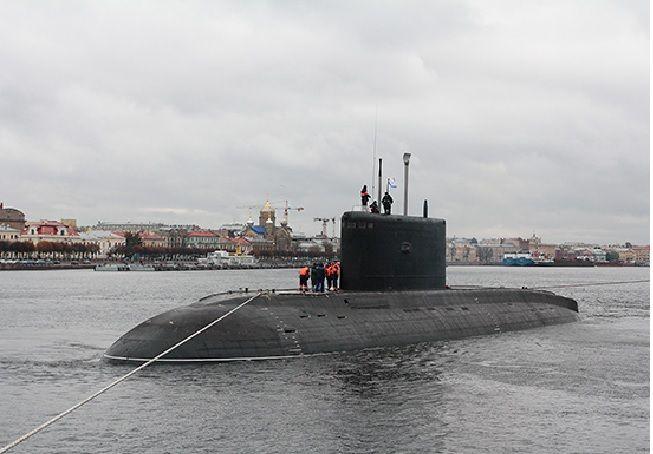 Подводная лодка проекта 636-3