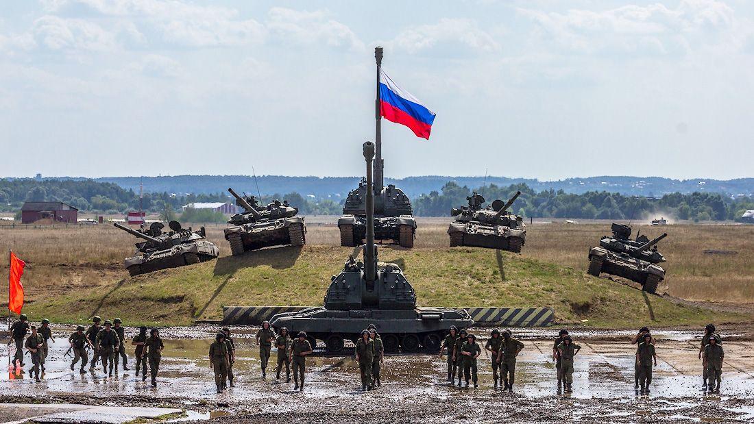 Современные сухопутные войска РФ