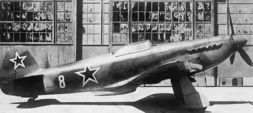 Як-3 на заводе