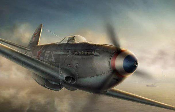 Як-3П пушечный