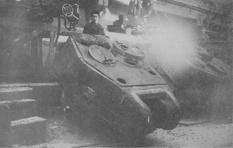 Башня танка Т-34-85