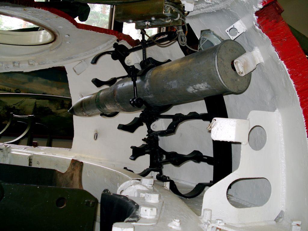 Башня танка Т-55 внутри