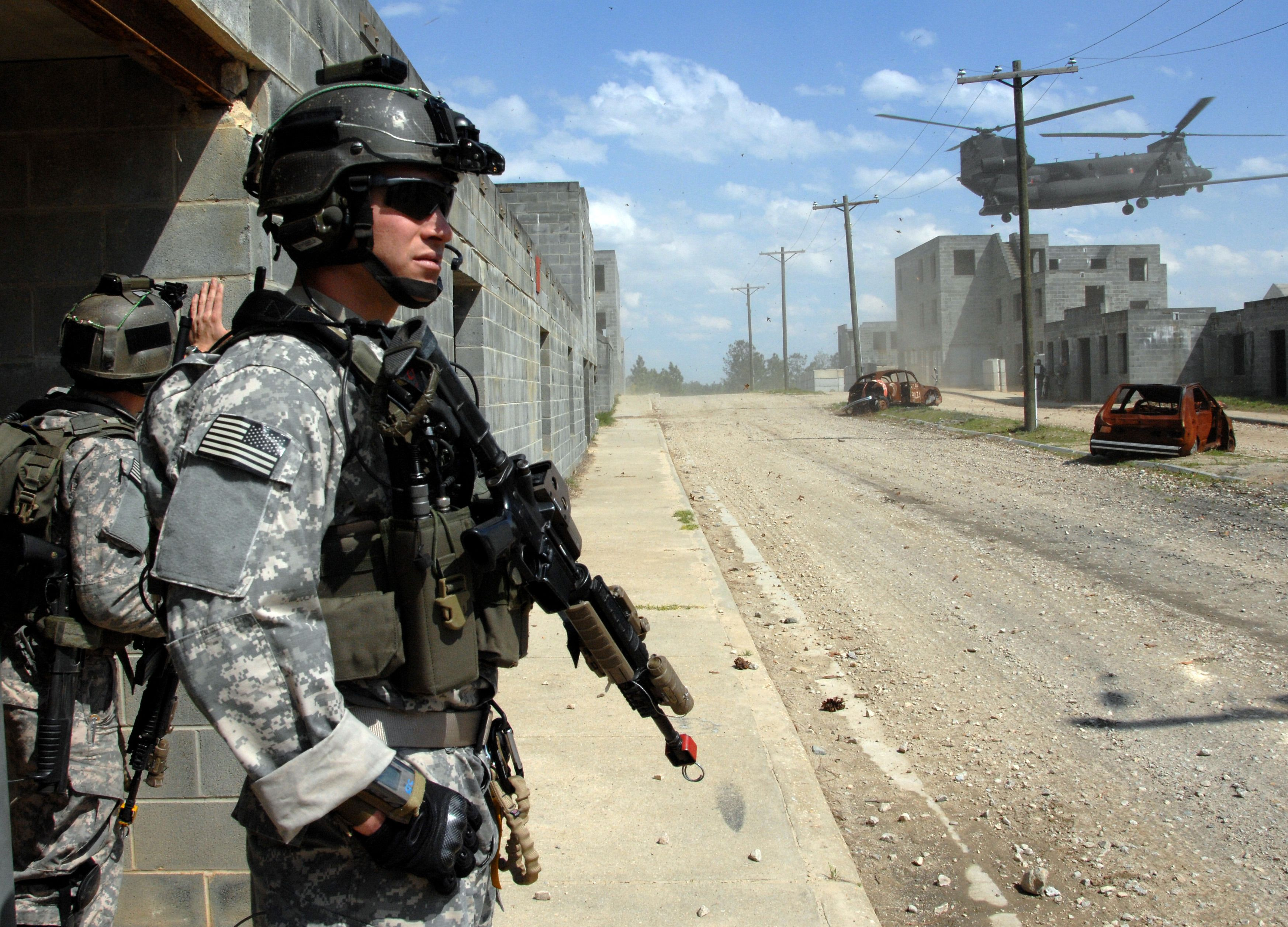 Боец армии США