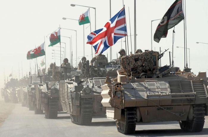 Британские войска под Басрой