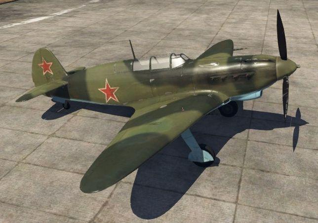 Истребитель Як-7Б