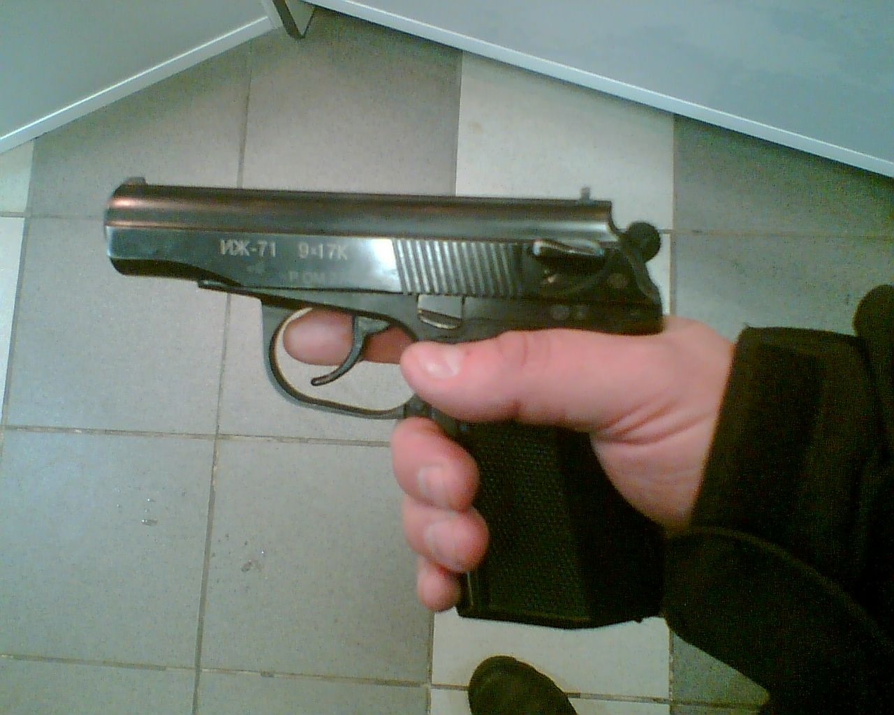 ИЖ-71 в руках