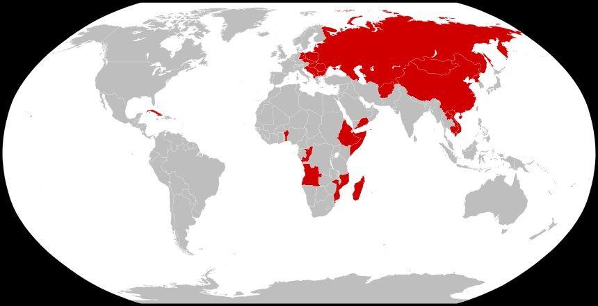 Карта противостояния