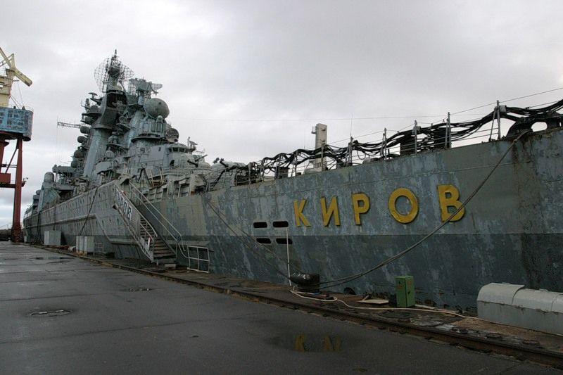 """""""Киров"""" у стенки"""