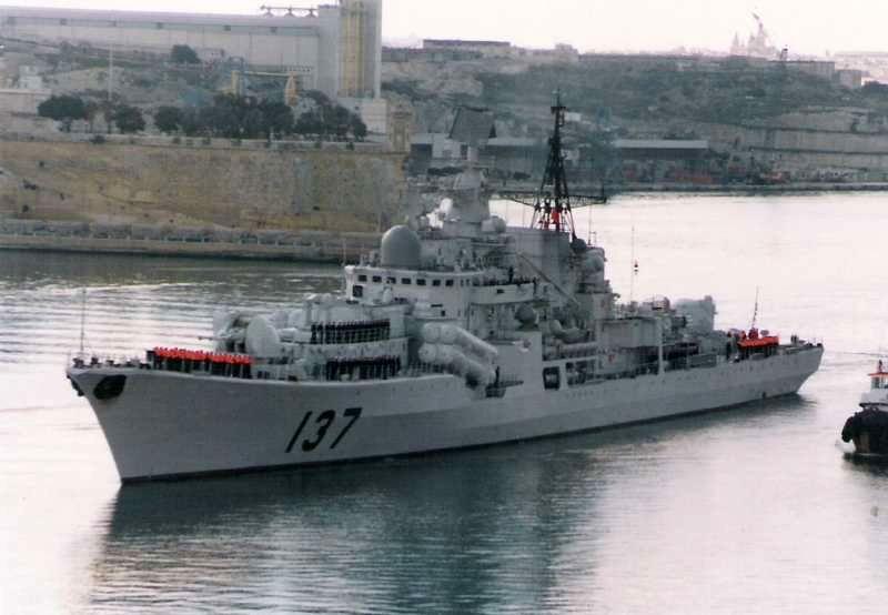 Китайские эсминцы проекта 956 ЭМ