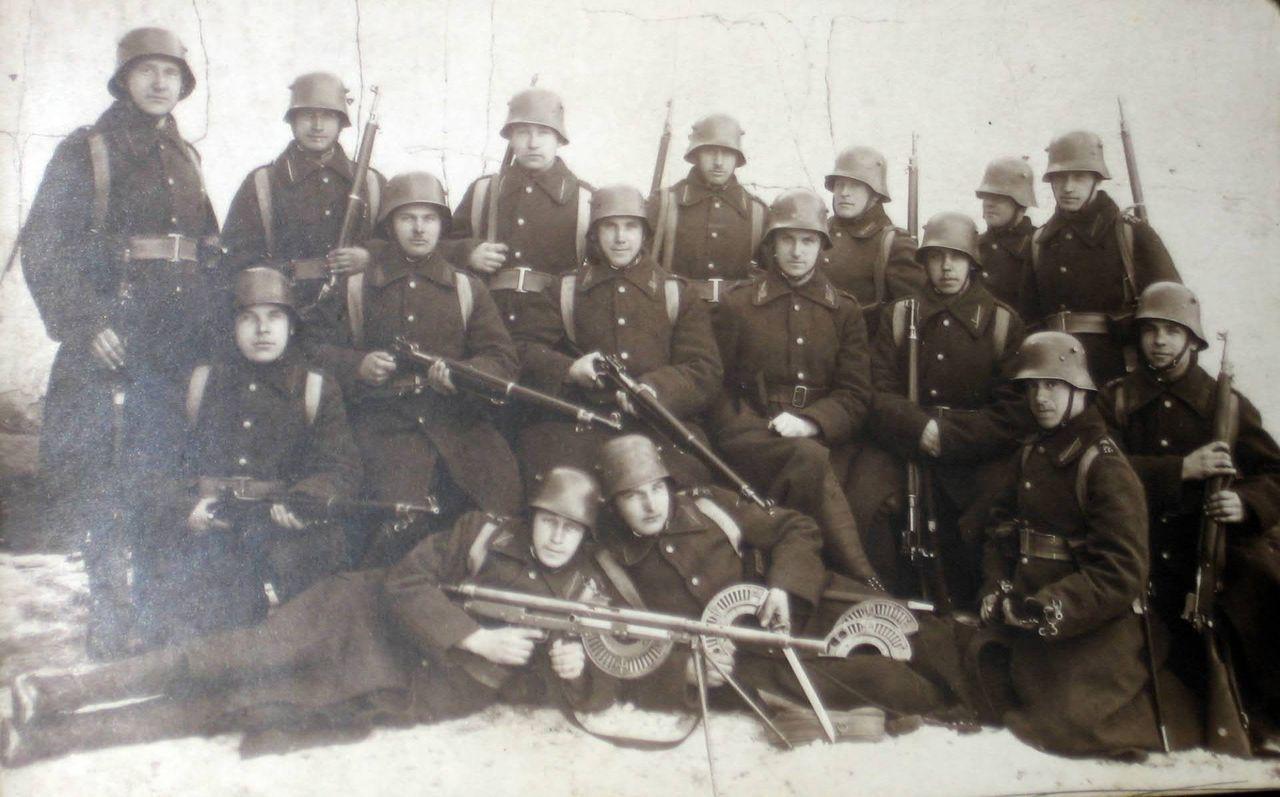 Латвийская пехота