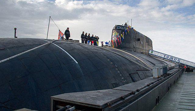"""Лодка """"Томск"""""""