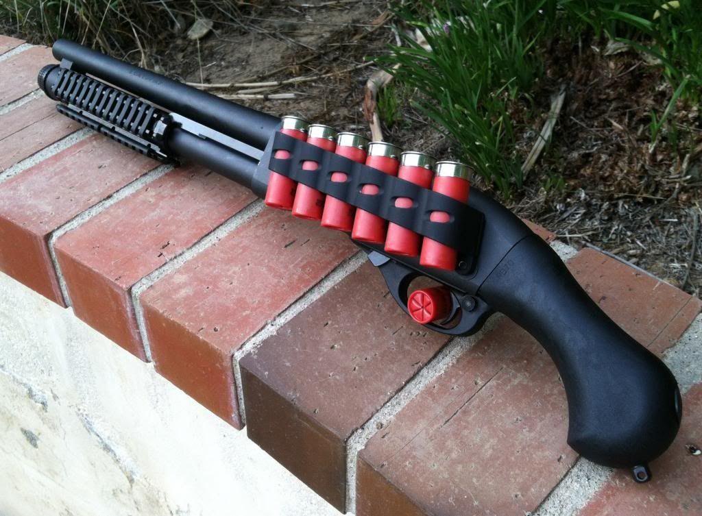 Помповое ружье для самообороны