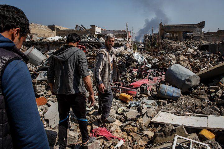Потери мирного населения