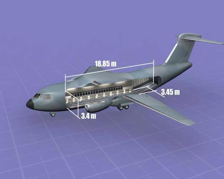 Размеры Ил-214