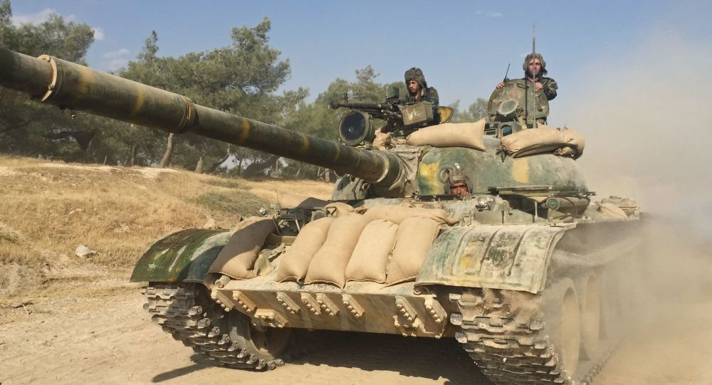 Сирийские танки