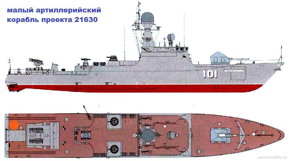 Схема МАК проекта 21630