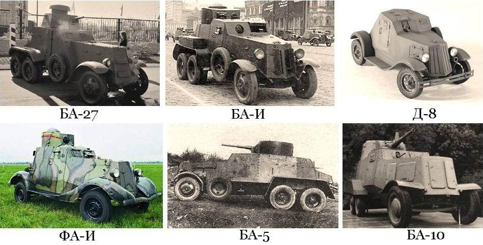 Советские броневики