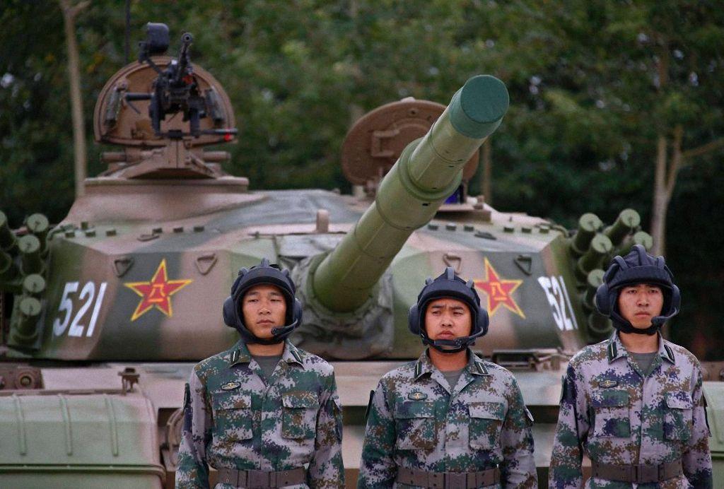 Современный китайский танк
