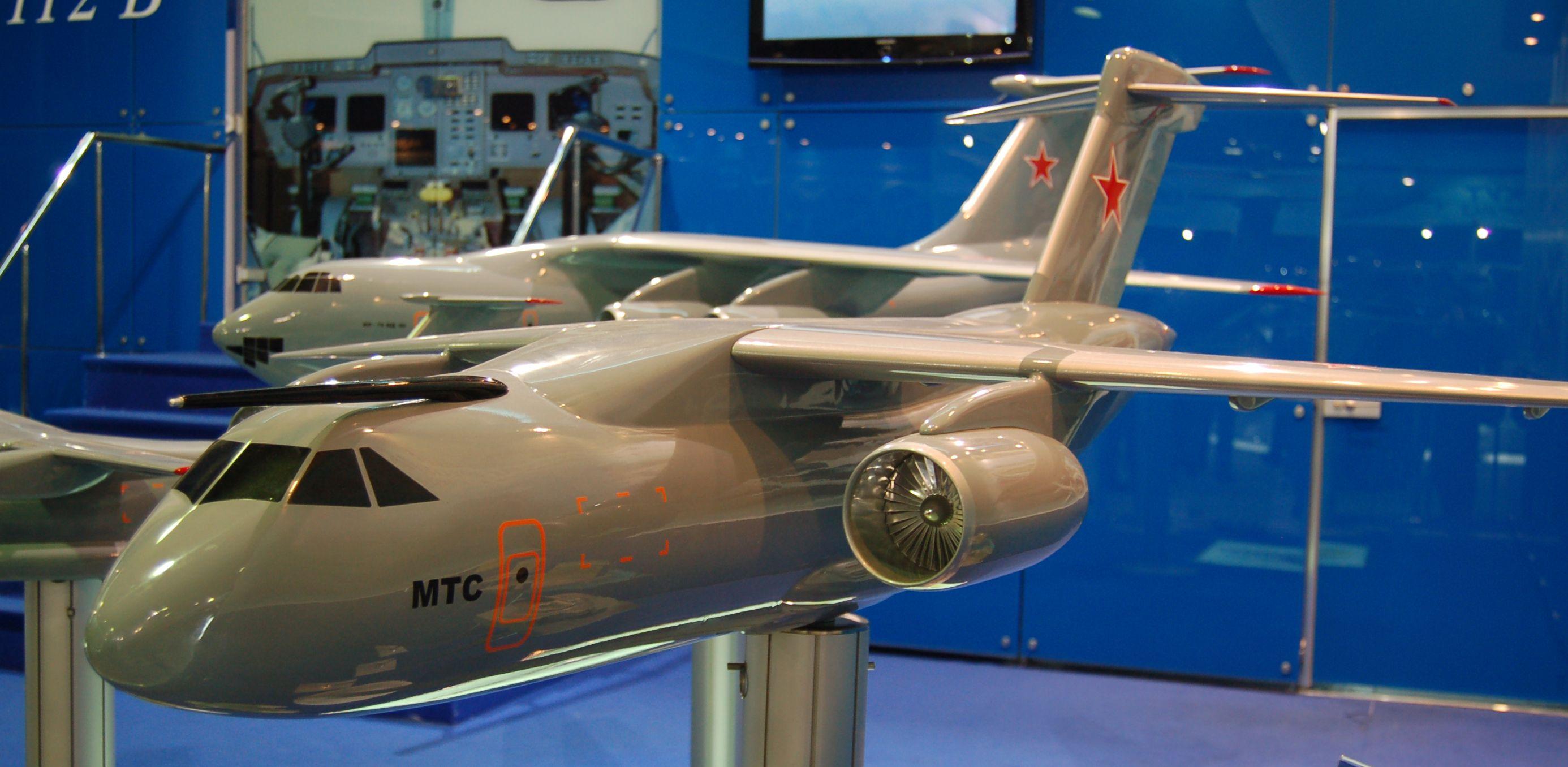 Транспортный самолет ИЛ-214