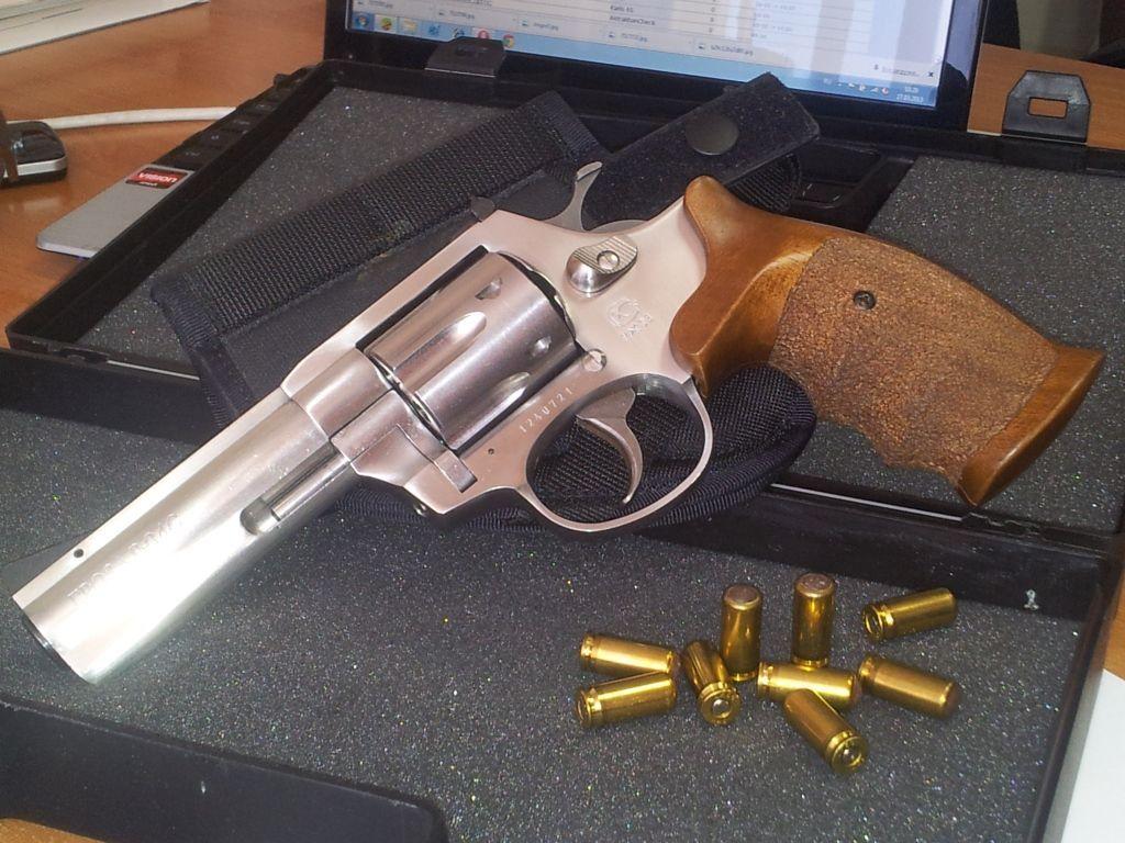 """Травматический револьвер """"Гроза Р-04"""""""