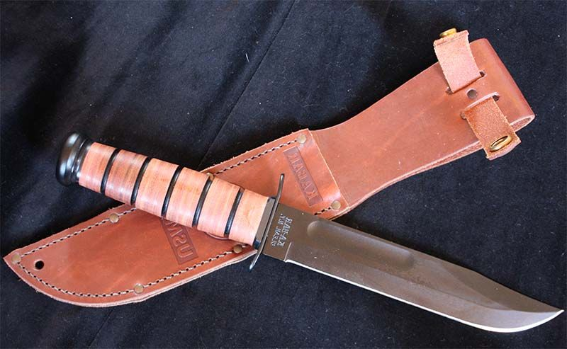 Туристический нож с ножнами