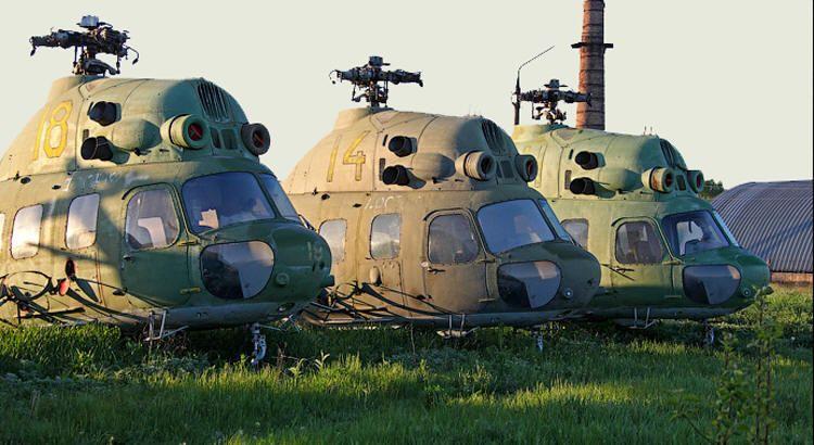 Вертолеты в утиль