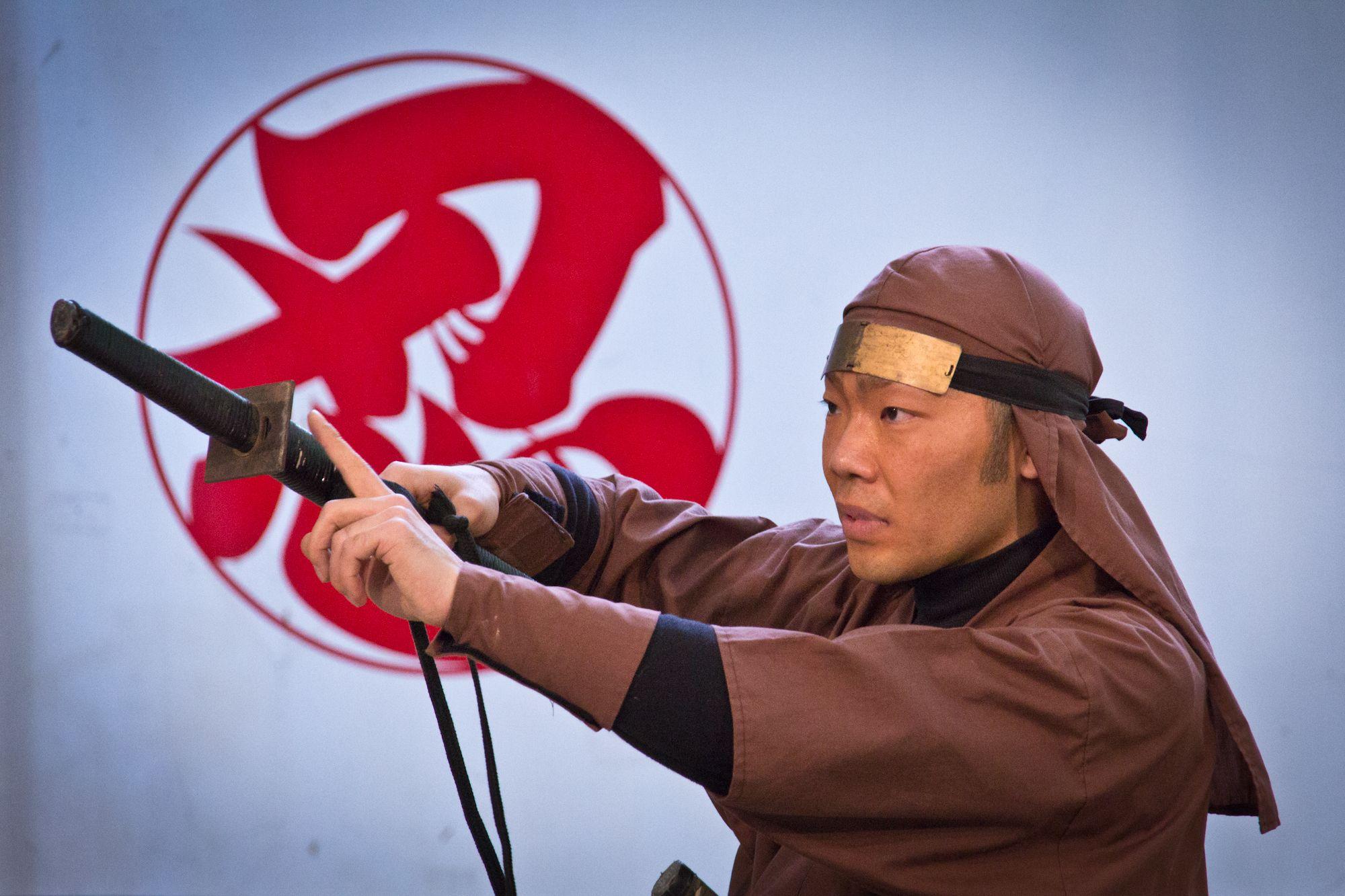 Воин с ниндзя-то