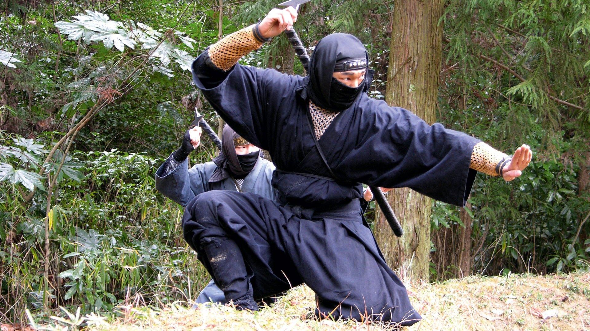Вооруженные ниндзя
