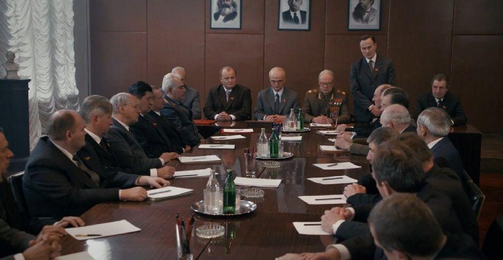 Заседание политбюро