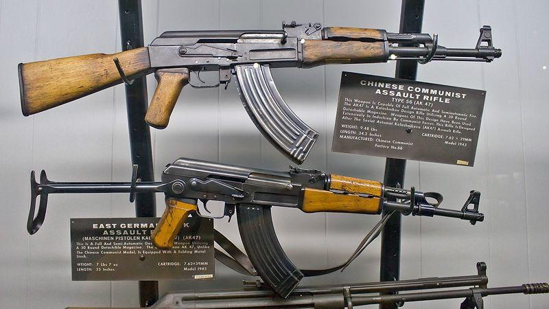 АК-47, ГДР и Китай