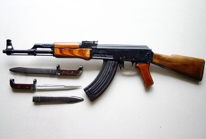 АК-47 со штык ножом