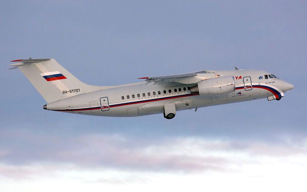 Ан-148 над облаками