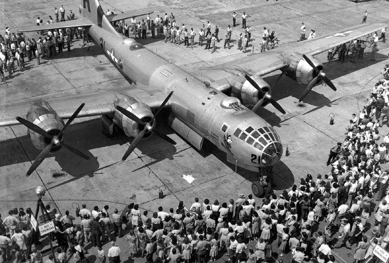 B-29 на аэродроме