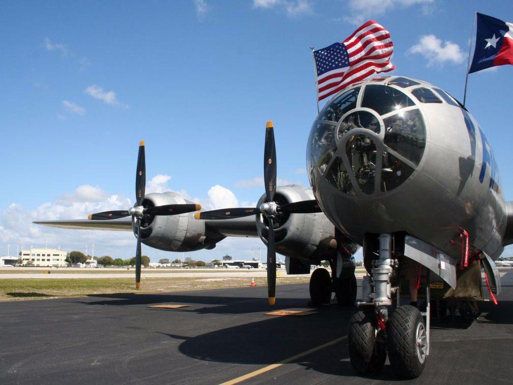 B-29 на ВПП
