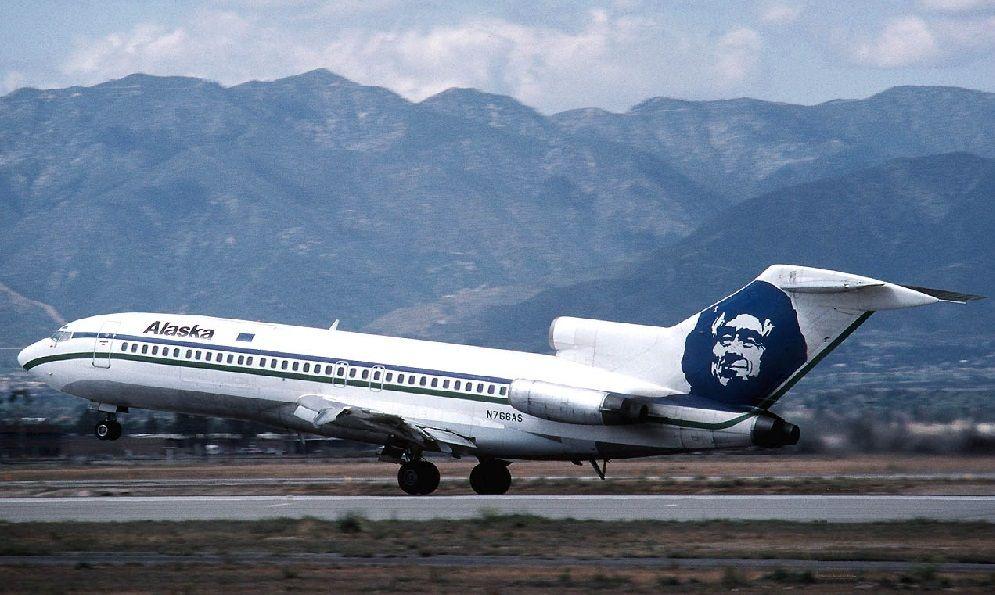 Боинг 727 на Аляске