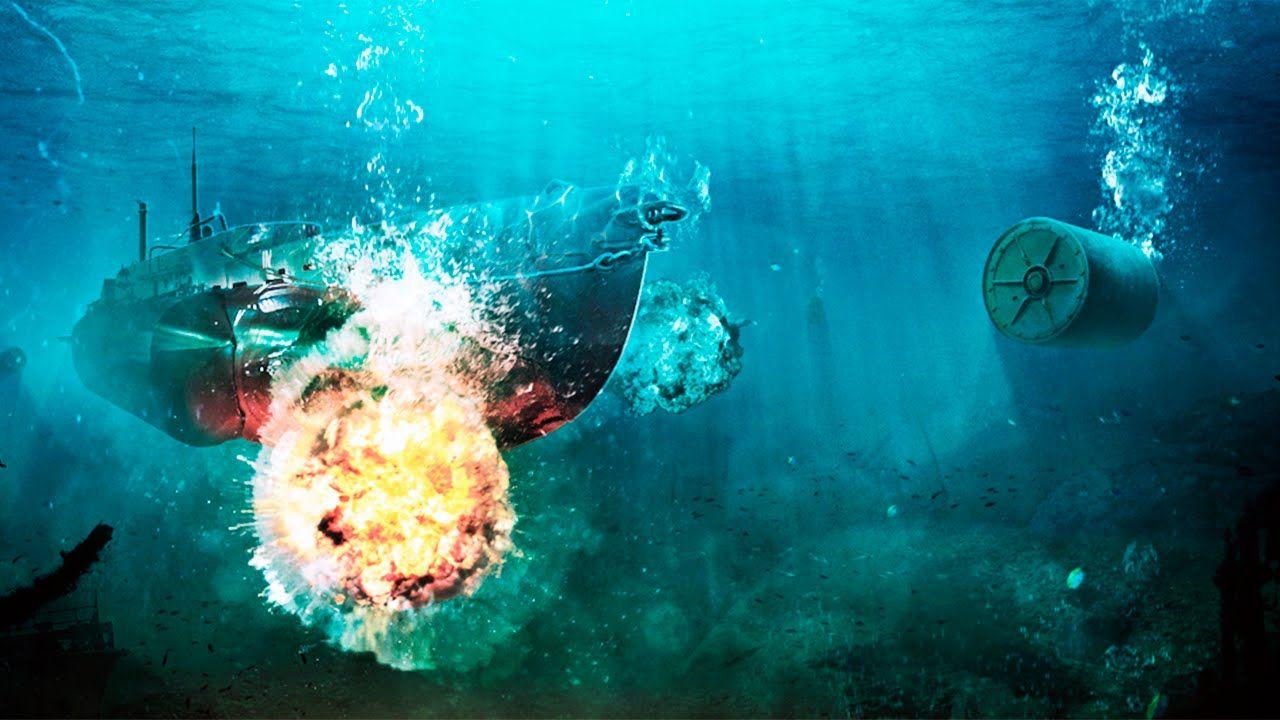 Бомбардировка подводной лодки